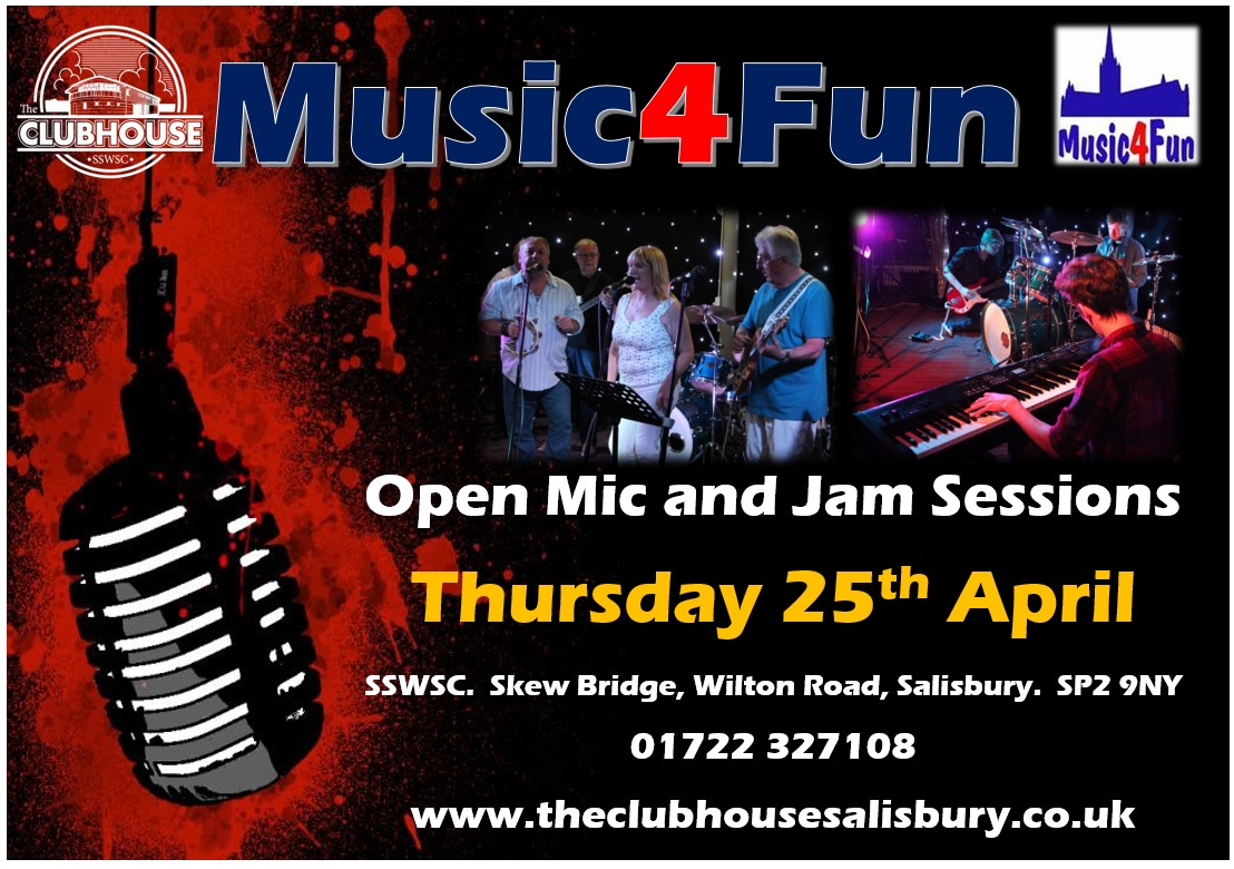 Music 4 Fun @ The Parker Bullen Bar The Clubhouse Salisbury